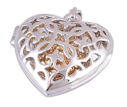 XIANGAI Elegant double Heart Perfume Bottle Pendant Lovers Love Pet Ashes Commemorative Pendant