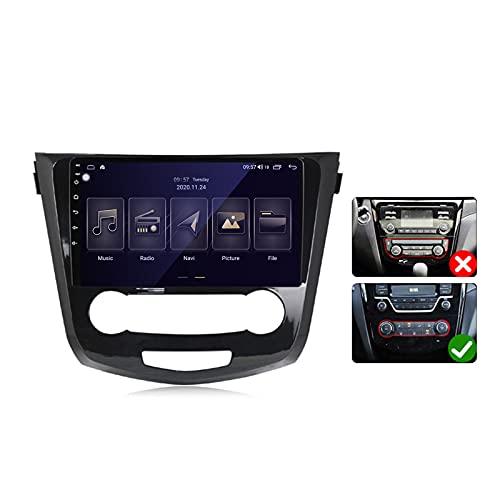 Android 10 Car Stereo 2 DIN Head Unit para Nissan QashQai X-Trail 2013-2017 Navegación GPS Pantalla táctil de 9 Pulgadas con 4G 5G WiFi DSP FM AM RDS Radio Reproductor Multimedia Carplay,Model a,M600