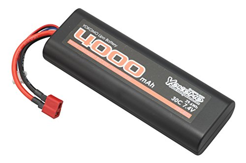 YOKOMO Lipo 30C 7.4V 4000mAh バッテリー T型コネクター付 YB-L400AT