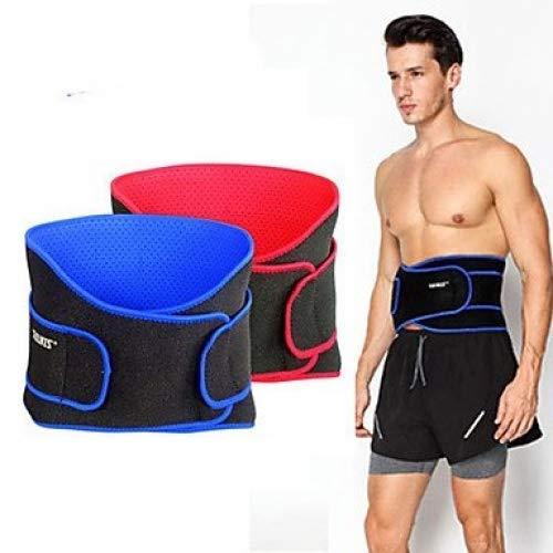 ZEH Hip Taille Unterstützung Padding Unterstützung Tactical Gürtel Gürtel Laufen/Jogging Fitnessstudio Lauf Schlank Leicht einstellbare Belastungs FACAI (Color : Royal Blue)