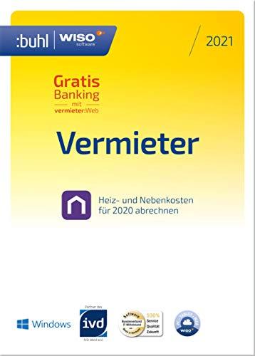 WISO Vermieter 2021 - Mietneben- und Heizkosten korrekt abrechnen 2020 | PC Aktivierungscode per Email