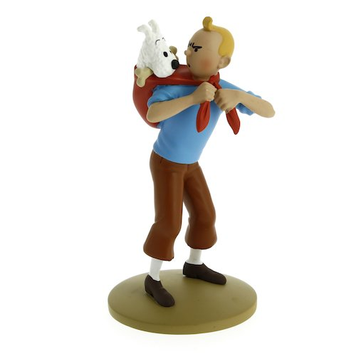 Collection figurine Tintin fetches Snowy 12cm Moulinsart 42194 (2015)