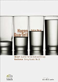 Hagen Quartett: Mozart: Quintet for Clarinet and Strings / Beethoven: String Quartet No. 16