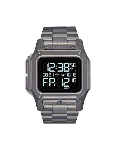 Nixon Armbanduhr Regulus Gunmetal