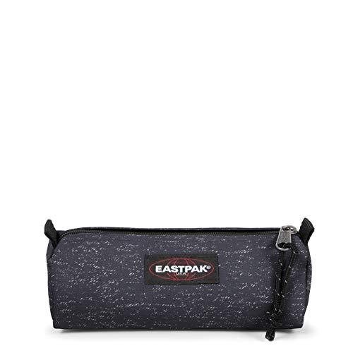 Eastpak Benchmark Single Astuccio, 6 x 20.5 x 7.5 cm, Nero (Melange Print Dot)