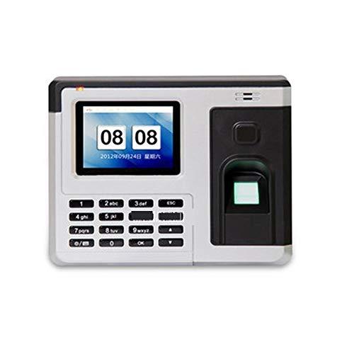 Unbekannt Präzise Zeiterfassung Fingerabdruck-Zeiterfassung Stanzmaschine Sign-in-Karte Swipe-System 2,8-Zoll-TFT-Farb-LCD-Schirm-5V Dauerhaft