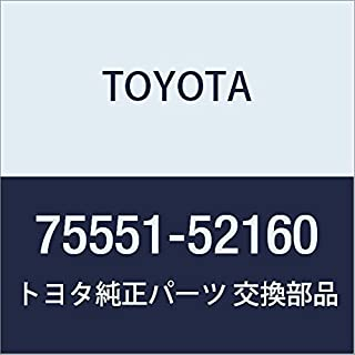 Genuine Toyota 75551-52160 Roof Molding