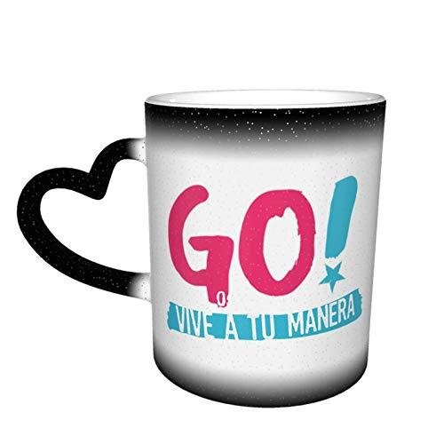 XCNGG Taza de café de la taza de la taza del cielo...
