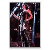 Floor Jansen (Nightwish) Bühnentapete 5 Poster, dekoratives Gemälde, Leinwand, Wandkunst, Wohnzimmer, Poster, Schlafzimmer, Malerei, 60 x 90 cm