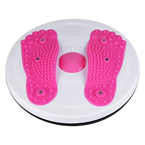 Alomejor Fitness Twister Tablero Giratorio Twister Cintura Disco Equipo de Gimnasio Ejercicio de Adelgazamiento Perder Peso