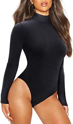 Irisnaya Shapewear Bodysuit for Women Long Sleeve Waist Trainer Body Shaper product image