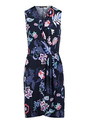 Betty Barclay Kleid blau rot 10431455, Farben:Dark Blue/Red, Grössen:36