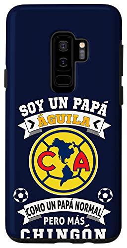 Galaxy S9+ Aguilas del America Futbol Mexicano Soccer Fan Papa Aguila Case