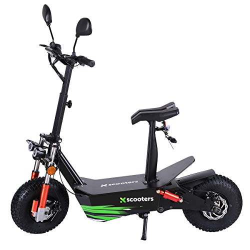 4MOVE Elektroroller Scooter 3000W Motor 60V 20Ah Lithium Akku, E-Roller mit Strassenzulassung, Scheibenbremsen, LED-Scheinwerfer, E-Scooter bis zu 45 km/h, bis zu 45 km Reichweite, Elektro Scooter