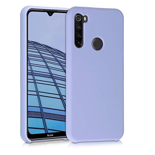 kwmobile Hülle kompatibel mit Xiaomi Redmi Note 8T - Hülle Handyhülle gummiert - Handy Hülle in Pastell Lavendel