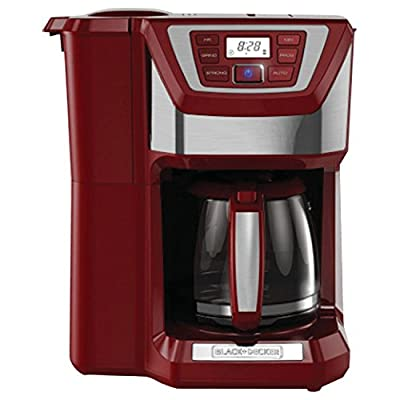 BLACK+DECKER CM5000GD 12-Cup Mill and Brew Coffee Maker, Black/Grey from Amazon.com, LLC *** KEEP PORules ACTIVE ***