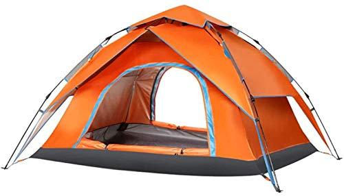 ZJDU Tiendas de campaña para Acampar Tienda de campaña Camping Camping campaña de campaña Doble Impermeable para la Pesca de mochilero (Color: Azul) (Color : Orange)