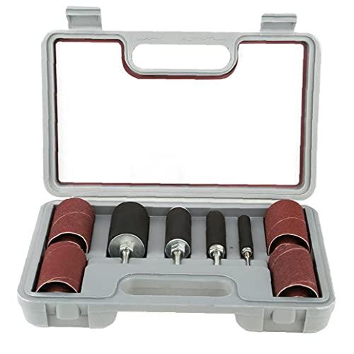 Accesorios de herramientas rotativas del tambor de lijado del husillo de la lijadora del tambor para el afilado de prensa de taladro 20pcs