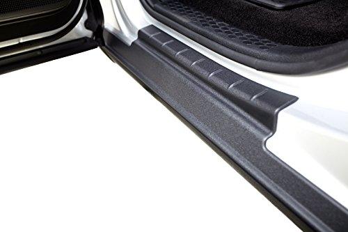 Bushwacker 14089 Black Trail Armor Rocker Panel & Door Sill Protectors for 2014-2018 Silverado & Sierra 1500 w/Extended Cab, 4pc Set