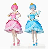TAITO Re: Zero -Starting Life in Another World Pretty Princess Rem and Ram Figure
