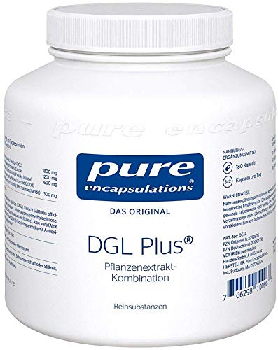 Pure Encapsulations DGL Plus® 180 stk