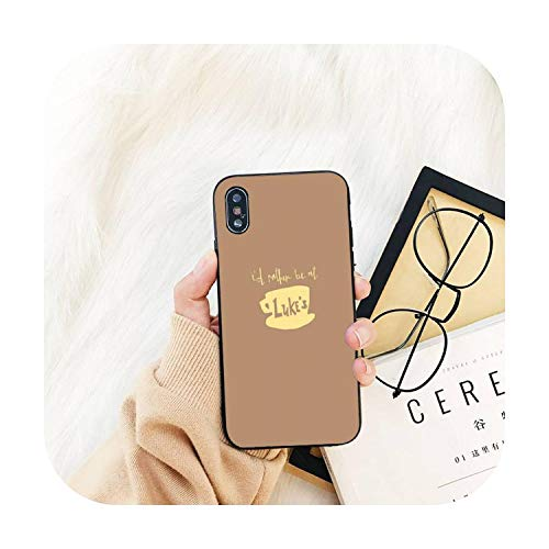 Cuty-girl Gilmore - Carcasa para iPhone 11, 8, 7, 6, 6S, Plus, X, XS, 5, 5S, SE, 2020, XR 11, Pro Cover-a3, para iPhone 5, 5S, SE