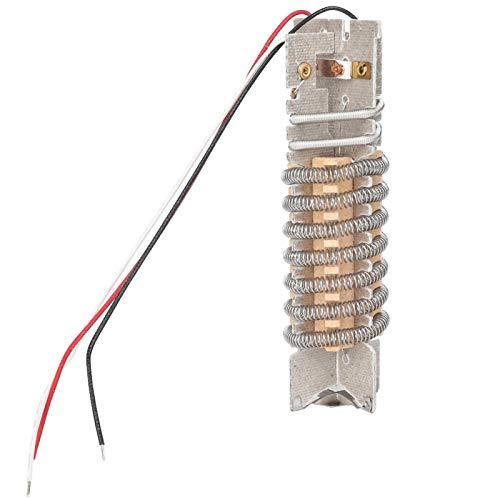 Agatige Núcleo Calefactor de Pistola de Aire Caliente, Kit de Elementos de Repuesto Accesorios Alta Estabilidad para Herramienta de Soldadura 3 Hilos con protección 1500W