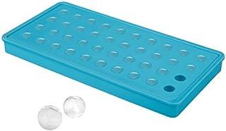 FuKiPro Funky Kitchen Products Eiskugelform für 40 Mini-Eiskugeln – Silikoneiswürfelform – Eiskugeln mit ca. 2 cm Durchmesser