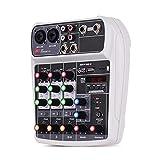 Best Mixer For Karaokes - Miseeki AI-4 Mixing Console Digital Audio Mixer 4-Channel Review