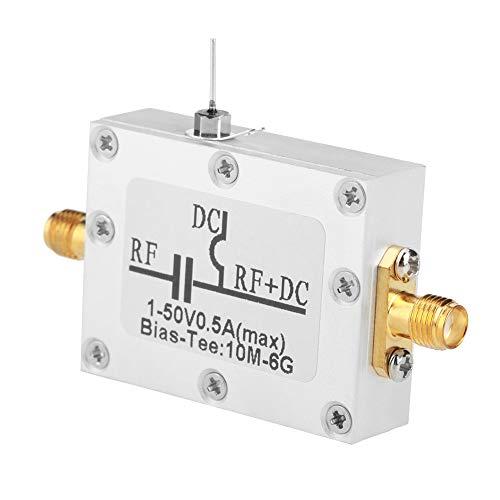 Bias a banda larga, 1 pezzo Tee bias 10MHz-6GHz Bias coassiale a microonde a banda larga da 10MHz-6GHz per amplificatore a banda larga