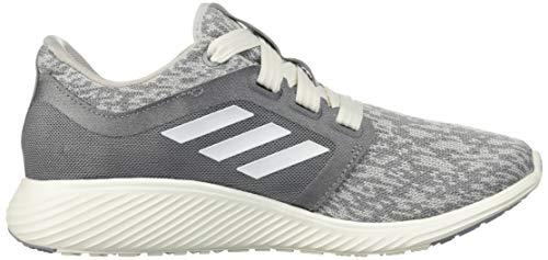 adidas Women's Edge Lux 3 Running Shoe, grey/cloud white/silver metallic, 8.5 M US 10