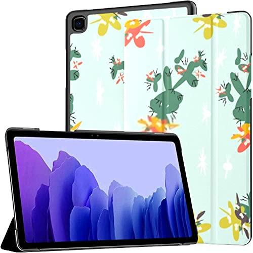 Funda para Samsung Galaxy Tab A7 Tableta de 10,4 Pulgadas 2020 (sm-t500 / t505 / t507), Cubierta de Soporte de múltiples ángulos de Dibujos Animados Modernos Infantiles con activación/suspensión au