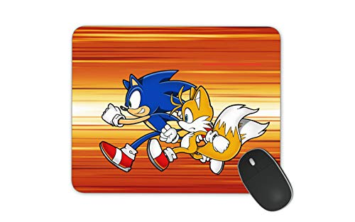 Sonic Mouse Pad for Kids Office Mouse Pad HD Printed Mouse Pad Large Mouse Pad (Sonic)