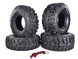 Kenda Bear Claw HTR Radial ATV/UTV Tire w/Key Chain (27' 4 Set 27x9R12 27x11R12)