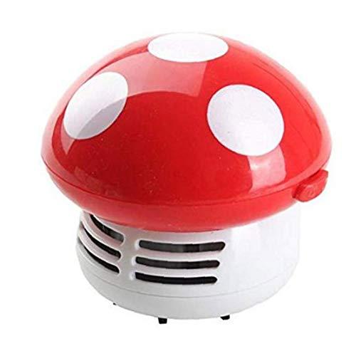 Uayasily Setas Aspirador Linda Mini Polvo Sweeper práctica Esquina Limpiador Tabla colector de Polvo para el Ordenador