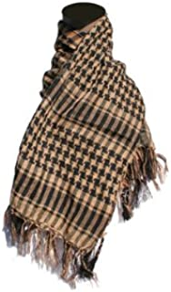 Raptors Airsoft Special Forces Head Wrap Scarf Tan Checkered Airsoft/Paintball/Military