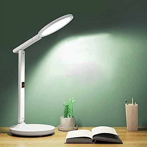 SpiceRack Accesorios para lámpara de Mesa, lámparas de Escritorio, lámpara de Lectura para el Cuidado de los Ojos, Moderna LED, lámparas de Mesa con 3 temperaturas de Color y 3 Regulables, r