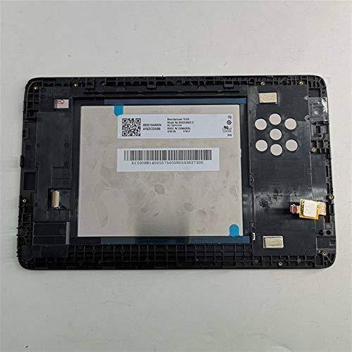 Displayersatz 8-Zoll-Fit for Lenovo IdeaTab A8-50 A5500 A5500F A5500H A5500HV LCD-Monitor Touch Screen Digitizer Glasbaugruppe mit Rahmen Ersatzsatz für Reparatursatz ( Color : For A5500F )