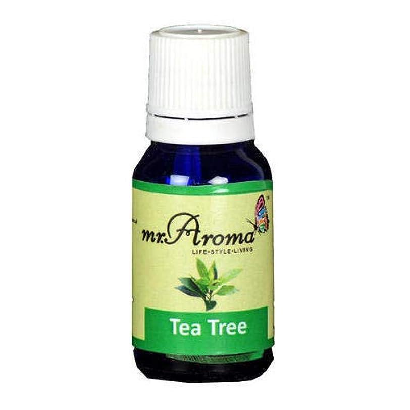 ジェスチャー粘土誰でもMr. Aroma Tea Tree Vaporizer/Essential Oil 15ml