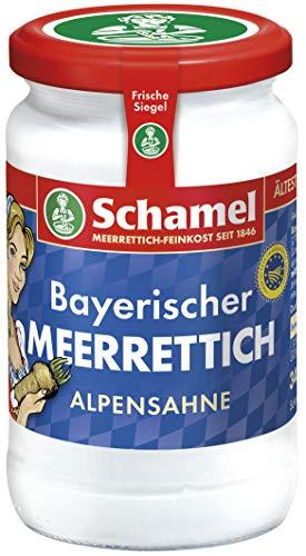 Schamel Meerrettich Alpensahne, 12er Pack (12 x 340 g)