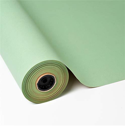 PAKOT Rollo Papel de Regalo Kraft Reciclado Color Verde - Bo