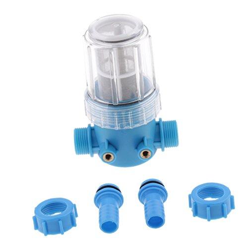 MagiDeal 20mm Hose 100 Mesh Inlet Schnellverbindung Wasserfilter für Hochdruckreiniger, Gartenpumpe, Gartenbewässerung, Hochdruckreiniger Zubehör