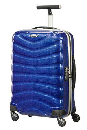 Samsonite Firelite Spinner S - Maleta de mano, 55 cm, 35 L, color azul (Deep Blue)