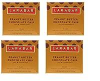 「お得な4箱セット」オリジナルフルーツ&ナッツフードバー、ピーナッツバターチョコレートチップ5本(1本あたり45g)×4箱海外直送品・並行輸入品