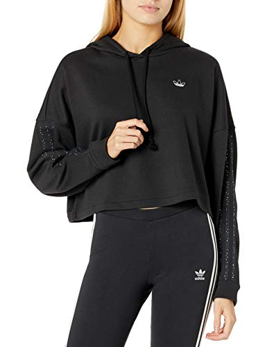 adidas Originals - Sudadera con capucha para baloncesto -  Negro -  Large