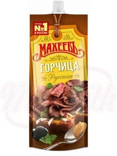 Russischer Senf scharf Maheev 160ml