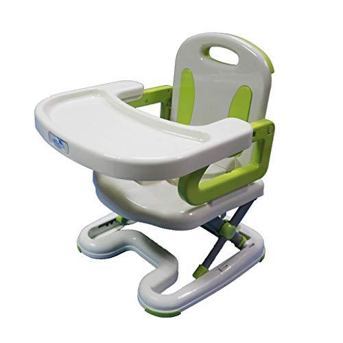 LEZDPP Bebé Silla de Comedor Comer Plegable portátil Multifuncional IKEA bebé Silla de niño Silla de Comedor Mesa de Inicio (Color : A)