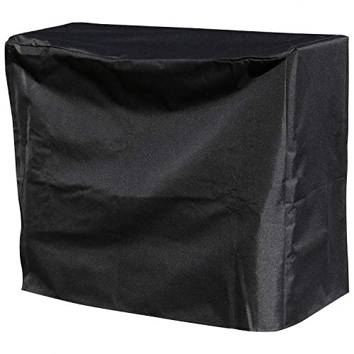 Sunnydaze 2-Foot Firewood Log Rack Cover - Outdoor Heavy Duty Black Weather-Resistant and Waterproof PVC Wood Storage Holder Cover - Fireplace and Fire Pit Accessory