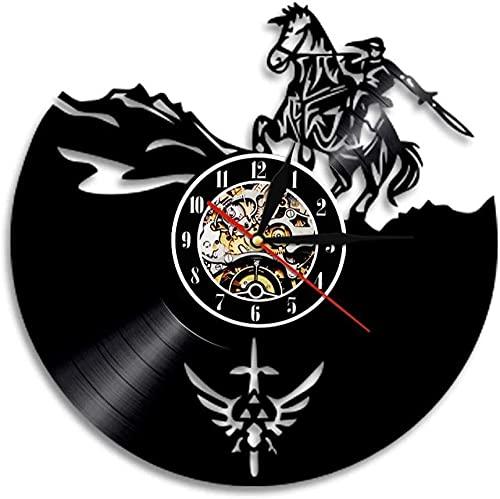 ZZLLL Reloj de Vinilo Hueco EE. UU. Alaska Reloj de Pared de...