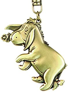 Disney Eeyore Brass Key Ring